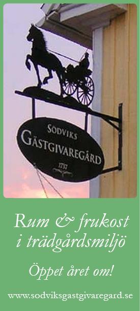 Gamla Gästgivaregården i Södvik