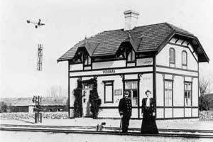 Persnäs station 1908