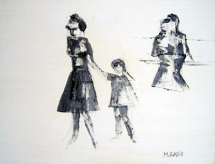 "Monica Westman Hallin - ""Mor och dotter"""