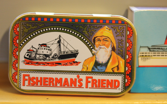 Fisherman´s Friend - inspiration hos designer Anne Andersson, Utklippan