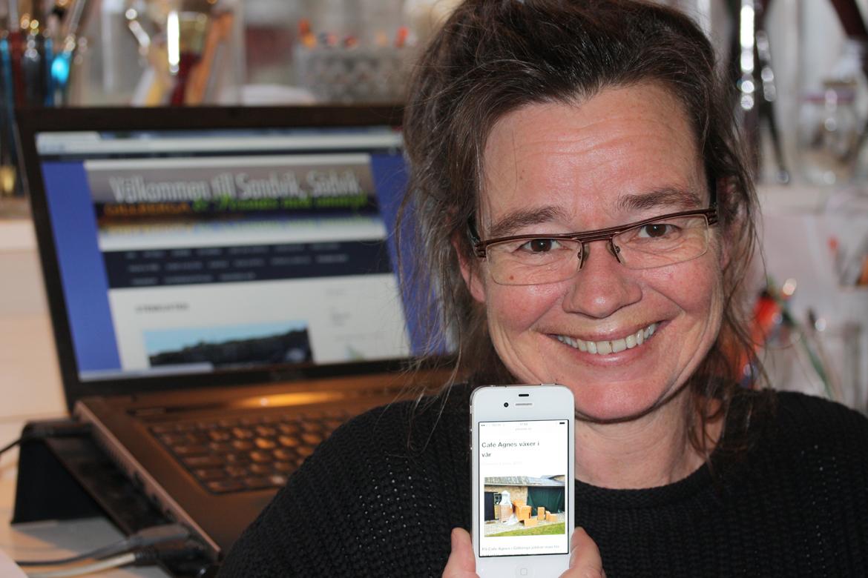 Anita Tingskull och Persnäsportalen - artikel i ÖB