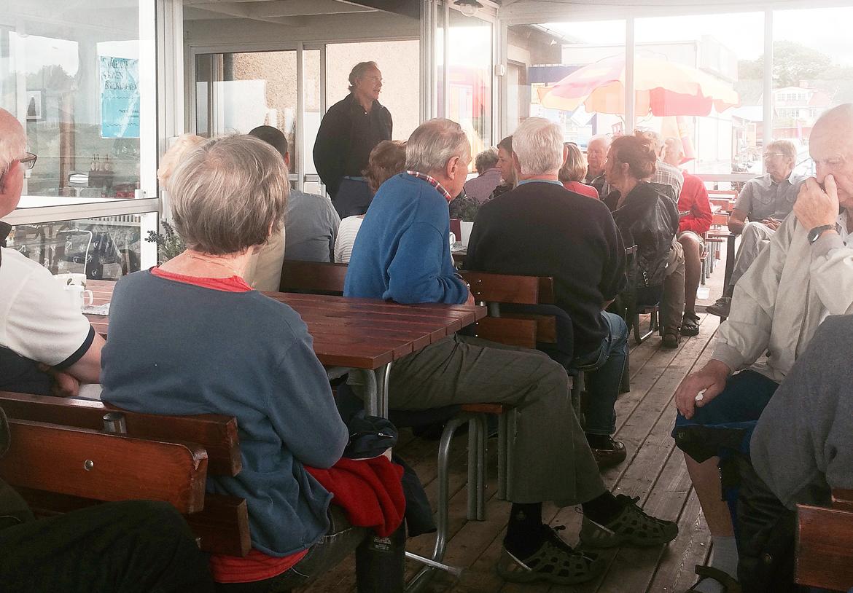 Frukostmöte i Sandvik om havsörnar