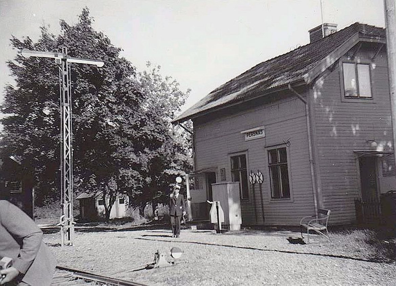 Persnäs station 1961