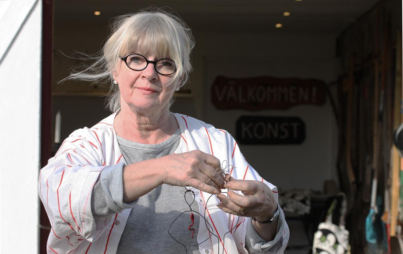 Anne Larsson - hantverkare i Södvik