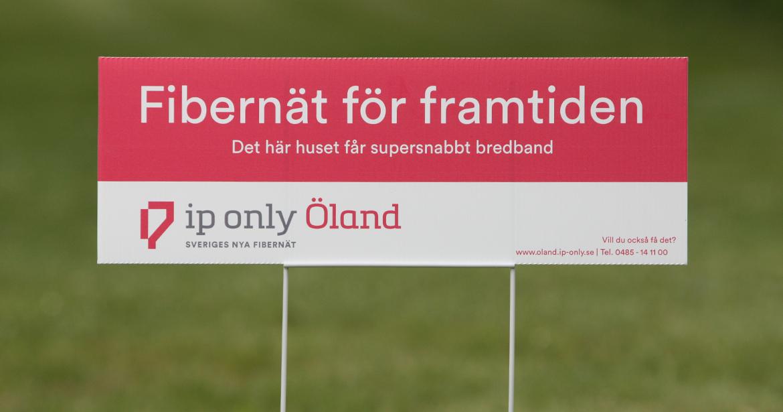 Fibernät för framtiden - ip only Öland