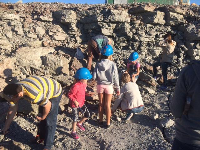 Gillberga Natur- och Kulturbrott - liten fossilskola