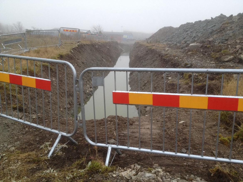 Avsaltningsverket i Sandvik december 2016