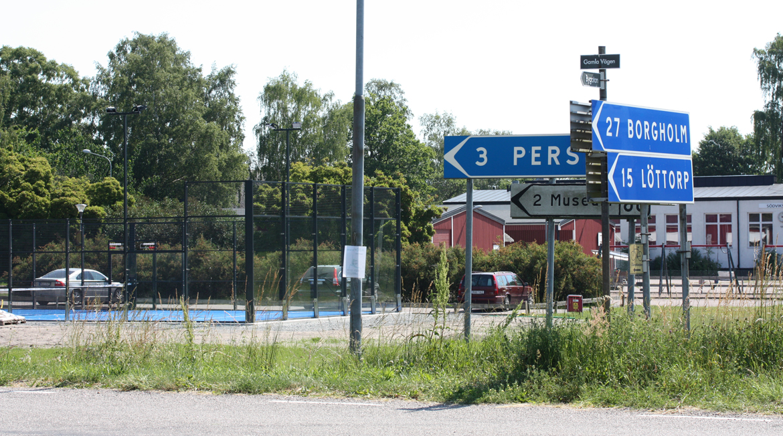 Padelbanan i Södvik