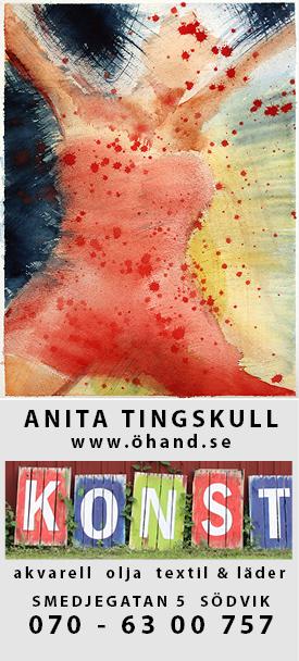 Konstnär Anita Tingskull