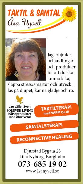 Åsa Nyvell Taktil & Samtal