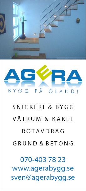 AGERA BYGG på Öland!