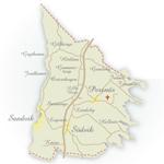 Karta Persnäs socken miniatyr