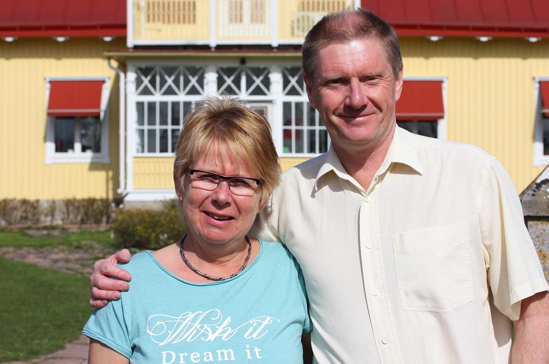 Anders och Kristina på Persnäs Prästgård