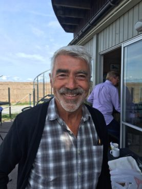 Finn Zetterholm vid Frukostmöte i Sandviks Hamn