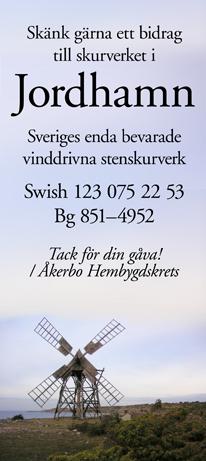 Skänk gärna ett bidrag till skurverket i Jordhamn